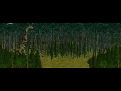 Dinosaur Safari (Late Jurassic) Clip #9: Brachiosaurus