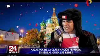 'Kazachok' es el nuevo ritmo musical inspirado en la clasificación de Perú al Mundial