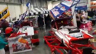 Brisca f1 at the motorsport with attitude show