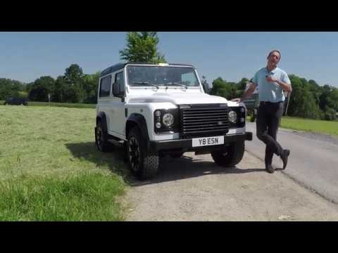 2018 land rover defender works v8 - first test drive video review