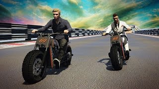 CELE MAI TARI CURSE PENTRU MOTOCICLETE! - GTA 5 ONLINE