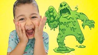 Giant Slime Pretend Play Caletha Playtime