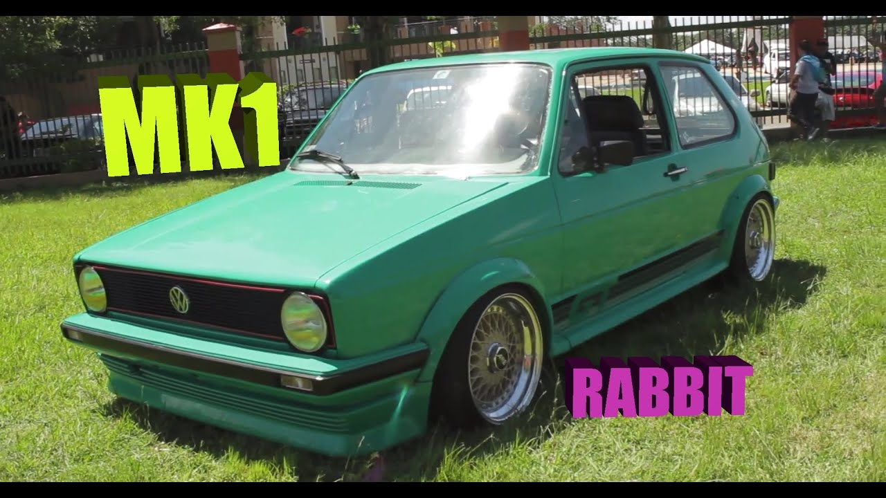 1983 Volkswagen Rabbit Vw Mk1 In Mint Green Youtube Gti