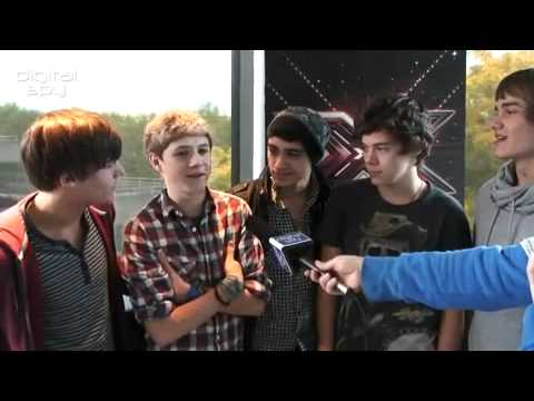 One Direction-The X Factor 2010-Digital Spy Interview