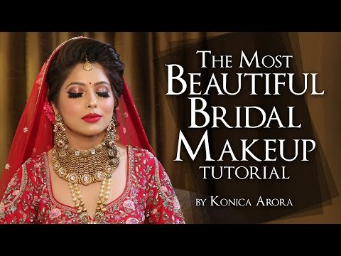 Indian Bridal Makeup Tutorial | Step By Step Full Makeup Tutorial | Krushhh By Konica thumbnail