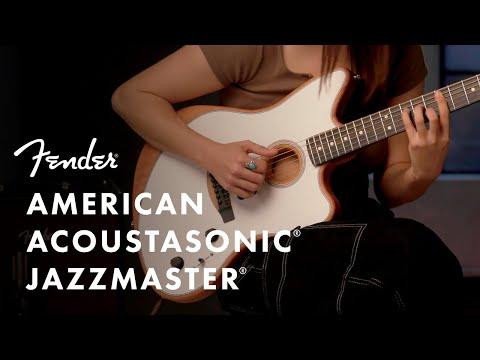 Exploring The American Acoustasonic Jazzmaster | American Acoustasonic Series | Fender