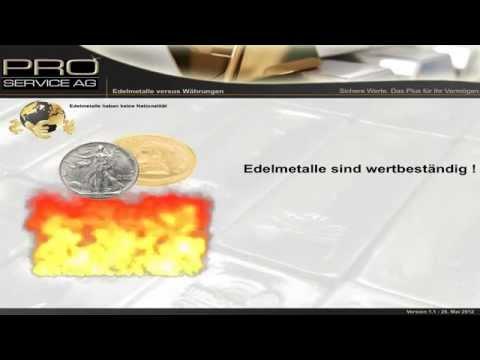 Sekura Finanz - Edelmetalle flexibel wie ein Sparbuch