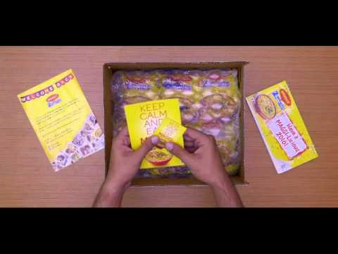 Unboxing The Maggi Welcome Kit