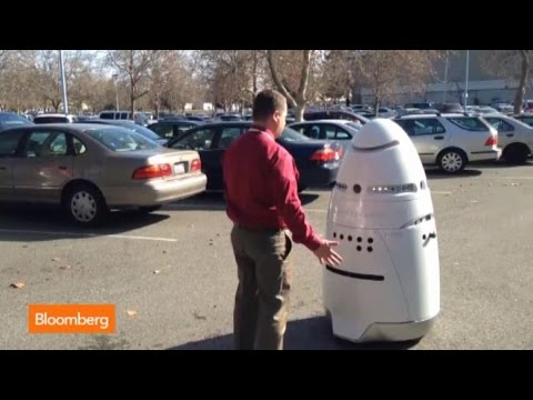 Meet Your New Security Guard: A 300-Pound Robot