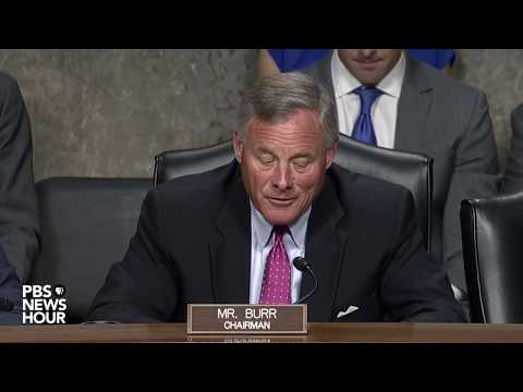 WATCH: Senators unhappy by absence of Google executive