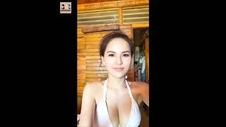 Hotgirl Trang Phi mặc bikini khoe hàng cực hot    VN TikTak Entertainment