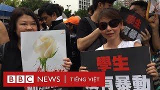 Biểu tình ở Hong Kong khác gì ở Việt Nam? - BBC News Tiếng Việt