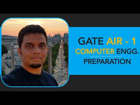 Aditya Shrotri, GATE AIR-1, Computer Engineering, IIT-B - YouTube