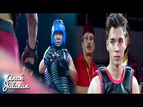 Boy Menang Lawan Petarung MMA  Asia [Anak Jalanan] [24 September 2016]