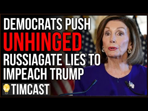 Democrats Unhinged Russia Theories Persist, Nancy Pelosi AGAIN Cries PUTIN And DEMANDS Impeachment