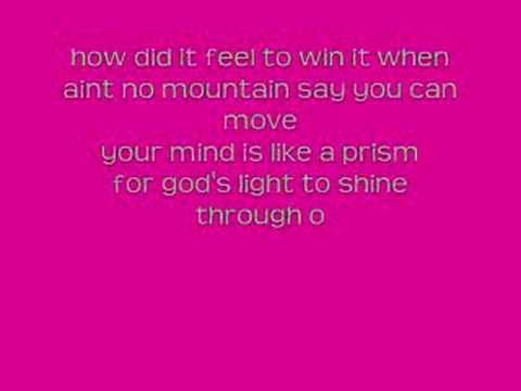 Solange Knowles-I decided-Lyrics
