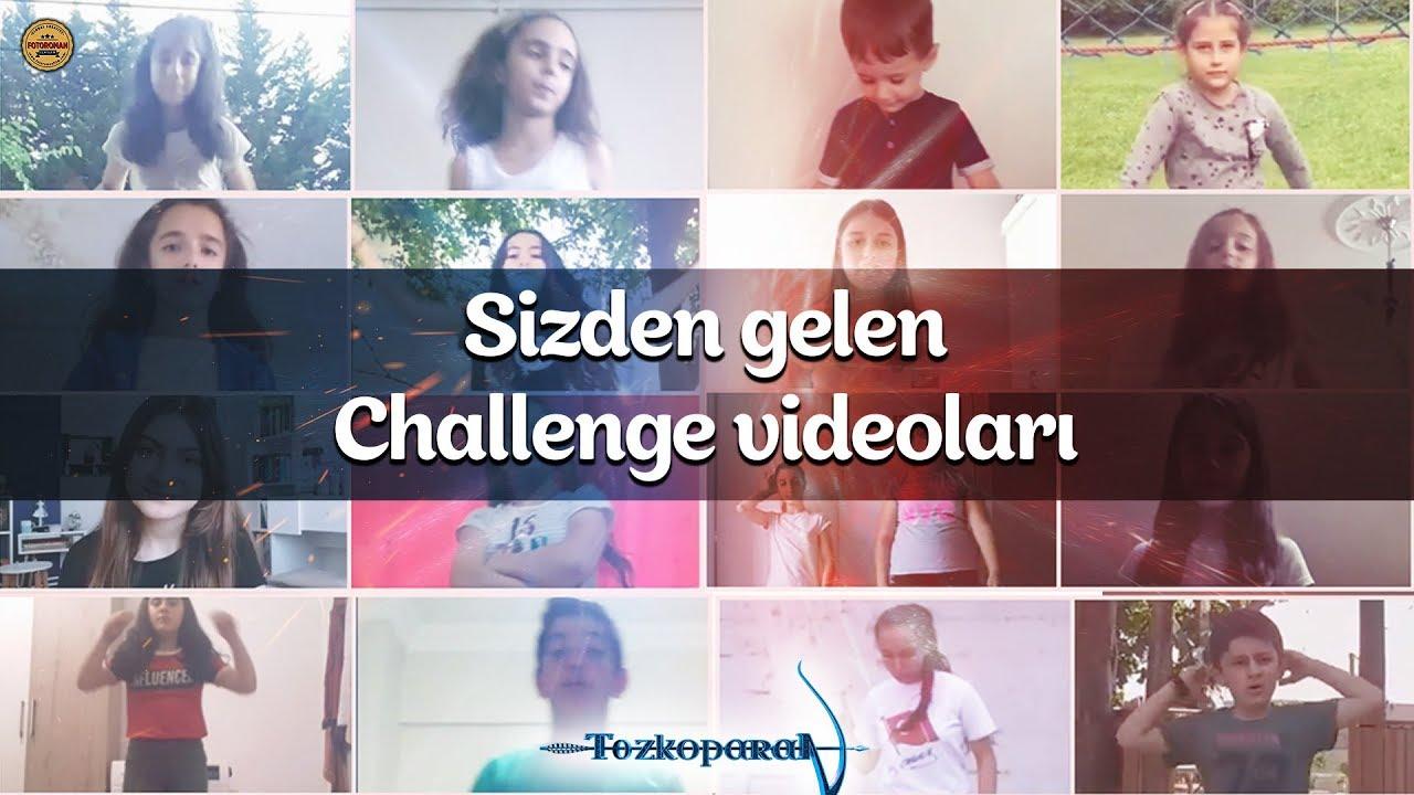 Sizden gelen challenge videoları - Tozkoparan