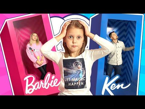 Родители стали КУКЛАМИ! Почему Мама и Папа теперь Барби и Кен?