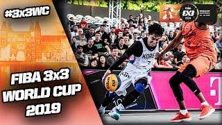 South Korea v Netherlands | Men's Full Game | FIBA 3x3 World Cup 2019