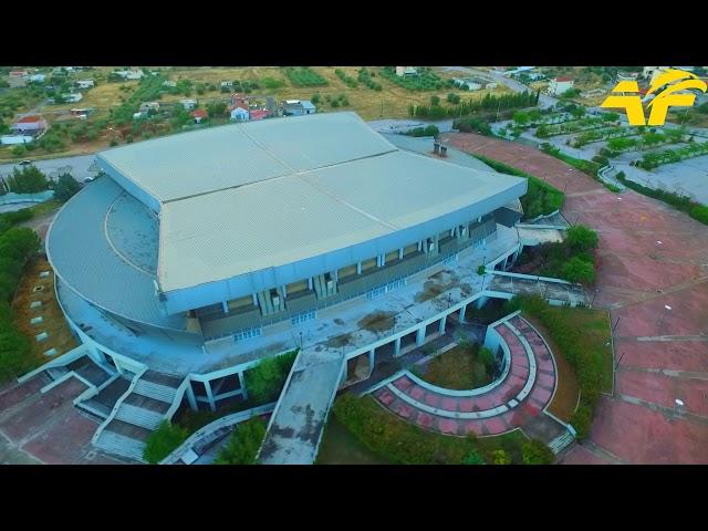 Κλειστό Γήπεδο Άνω Λιωσίων | Aerial Footage of Ano Liosia Stadium(AEK BC)