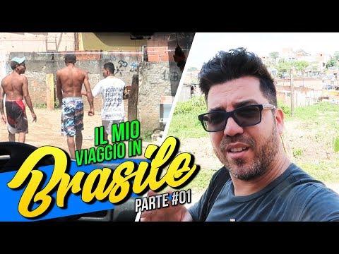 """IL MIO VIAGGIO """"NON TURISTICO"""" 🇧🇷 IN BRASILE - (ZONE PERICOLOSE)"""
