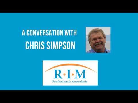 RIMPA Conversation with Chris Simpson