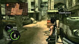 PC Longplay [455] Resident Evil 5 (part 1 of 4) 2P - Sheva Side