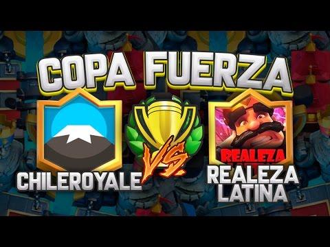"CLASH ROYALE COPA FUERZA // CHILE ROYALE (Chile) vs REALEZA LATINA (Mexico) ""Duelo de Invictos"""