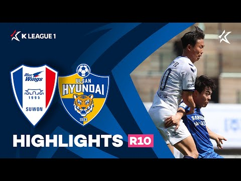 Suwon Bluewings Ulsan Hyundai Goals And Highlights