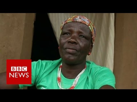 Chibok mother speaks to BBC about kidnapped daughter - BBC News