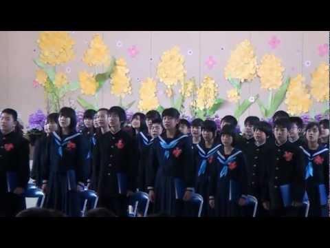 外江小学校 平成24年度卒業式(桜ノ雨)