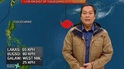 Bagyong tatawaging Betty, 'di inaasahang magla-landfall at hihina habang papalapit sa Luzon