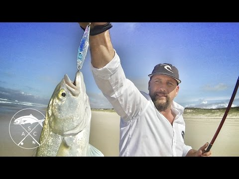 Tailor Fishing - 'Dirty Business' Episode 3 - Metal lure spinning