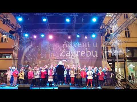 Feliz Navidad - zbor OŠ Marina Držića - Zagreb