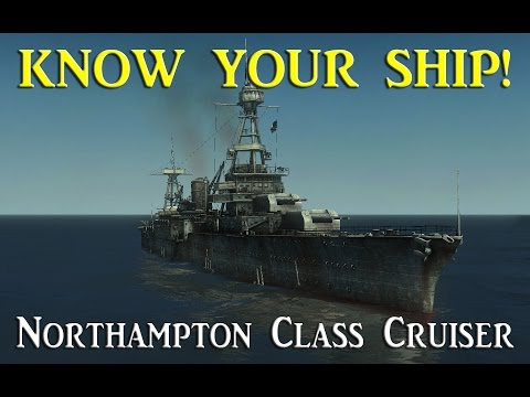 World of Warships - Know Your Ship #21 - Northampton Class Heavy Cruiser