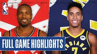 RAPTORS at PACERS | FULL GAME HIGHLIGHTS | February 7, 2020