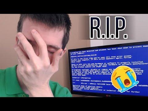 Rozbil se mi počítač. ?