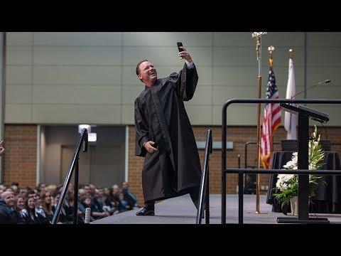 Fenwick High School 2017 Commencement Speaker Mick Betancourt