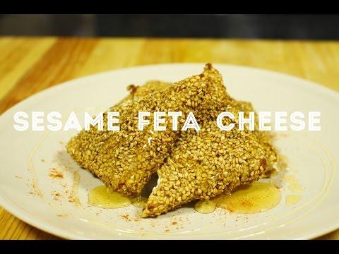 Sesame Feta Cheese