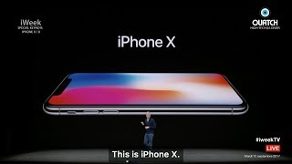 iWeek S05E03 : Keynote Apple iPhone X et iPhone 8 : le Best of