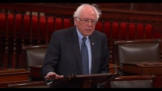 Bernie Sanders Quotes Jimmy Carter on Senate Floor...