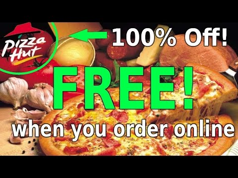 How To Get FREE Pizza Hut LIKE A GOD