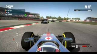 Formula 1 [2012][PC][Gameplay en español][HD 1080P][SILVERSTONE CIRCUIT]