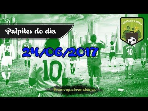 QUEBRANDO A BANCA: Dicas do dia 25/06/2017...