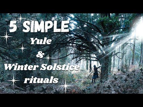 Yule & Winter Solstice ritual ideas
