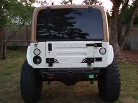 Swag Off Road Jeep Wrangler 97 06 Tj Amp Lj Fold Down