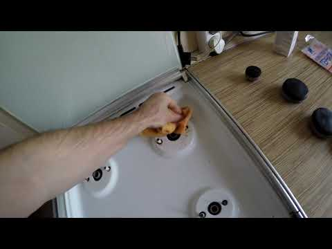 видео: Димексид в борьбе с пригоревшим жиром на кухонной плите
