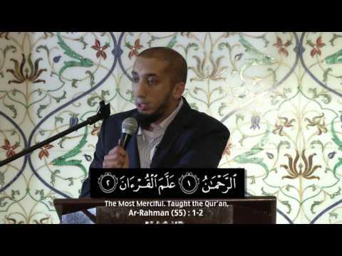 Lessons From Surah Ar Rahman - Ustadh Nouman Ali Khan Mp3