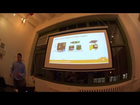 Coinspace NYC: The Sun Exchange: Solar Blockchain