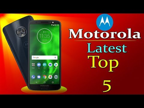 Motorola Latest Top 5 Mobiles Between 5000 To 15000